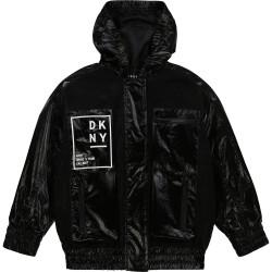 DKNY black windbreaker