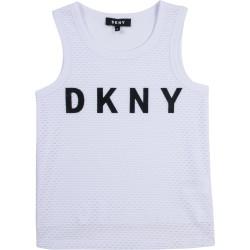 DKNY white tank top