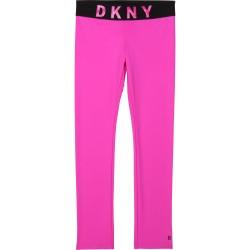 DKNY pink leggings