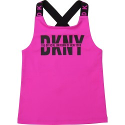 DKNY pink vest top