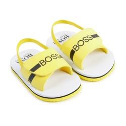 Hugo Boss Yellow Sandal