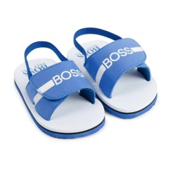 Hugo Boss electric blue sandal