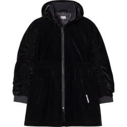 Karl Lagerfeld black trench coat