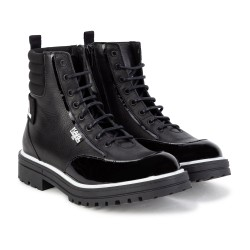 Karl Lagerfeld black ankle boots