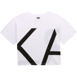 Karl Lagerfeld white t-shirt