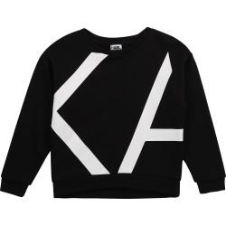 Karl Lagerfeld black sweatshirt