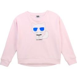 Karl Lagerfeld pink sweatshirt