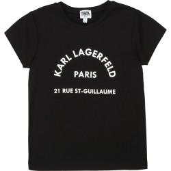 Karl Lagerfeld black t-shirt