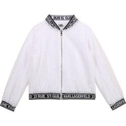 Karl Lagerfeld white jacket