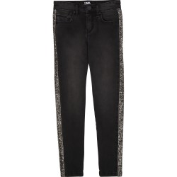 Karl Lagerfeld charcoal grey jeans
