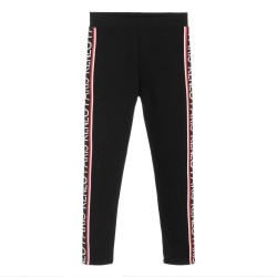 Kenzo Girls Black Logo Leggings
