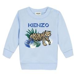 Kenzo pale blue sweatshirt and joggers set