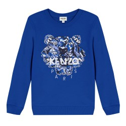 Kenzo electric blue sweatshirt