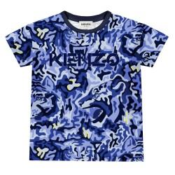 Kenzo electric blue t-shirt