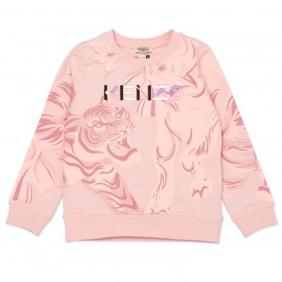 Kenzo salmon sweatshirt