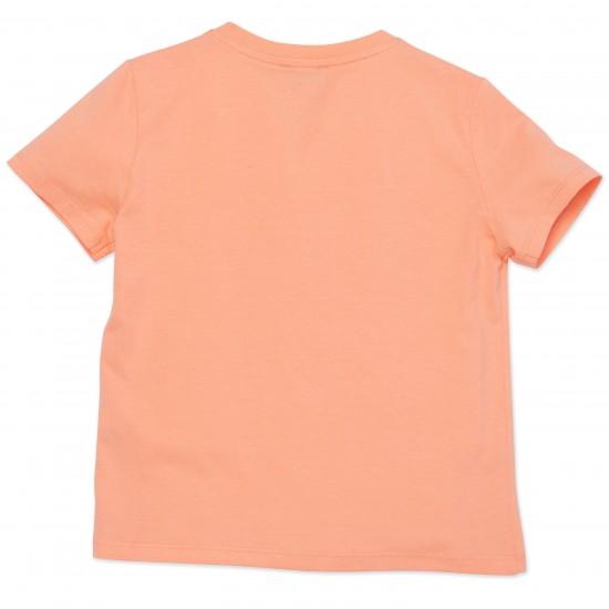 Kenzo peach logo t-shirt