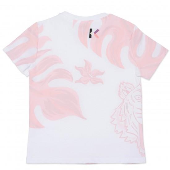 Kenzo white logo t-shirt