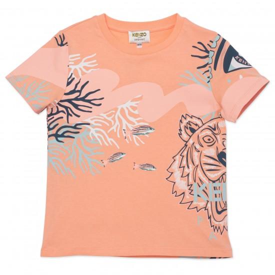 Kenzo salmon t-shirt
