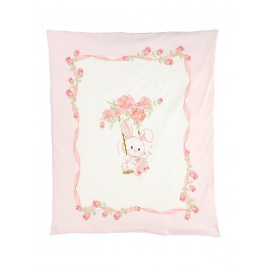 Monnalisa baby girls bunny blanket