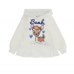 Monnalisa cream hooded jumper