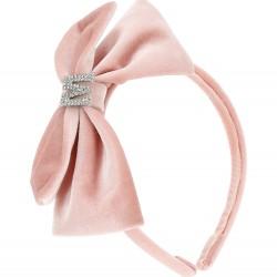 Monnalisa pink headband