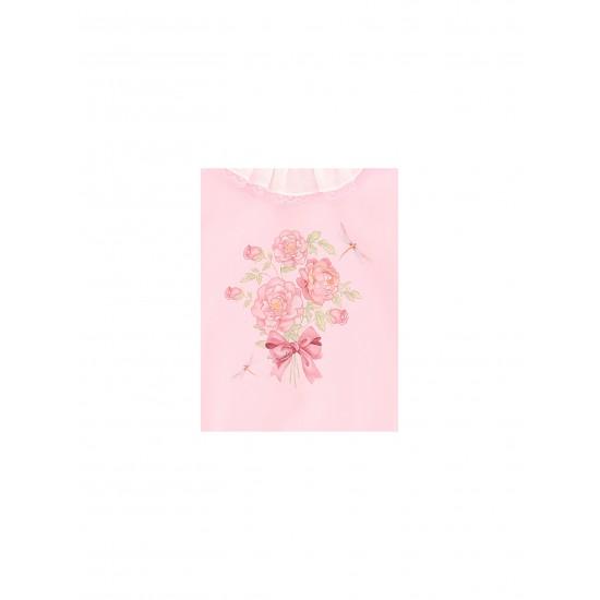 Monnalisa pink babygrow