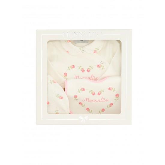 Monnalisa babygrow gift set