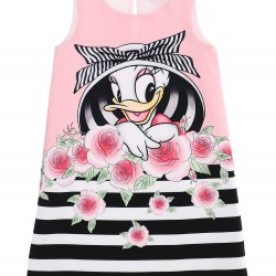 Monnalisa daisy duck dress