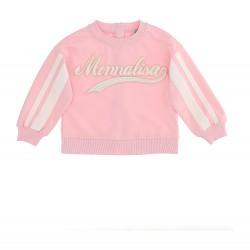 Monnalisa pink sweatshirt