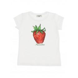 Monnalisa strawberry t-shirt