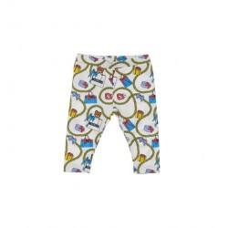 Moschino cream leggings