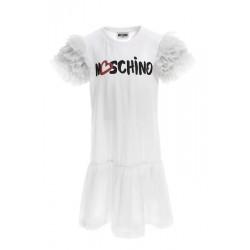 Moschino white dress