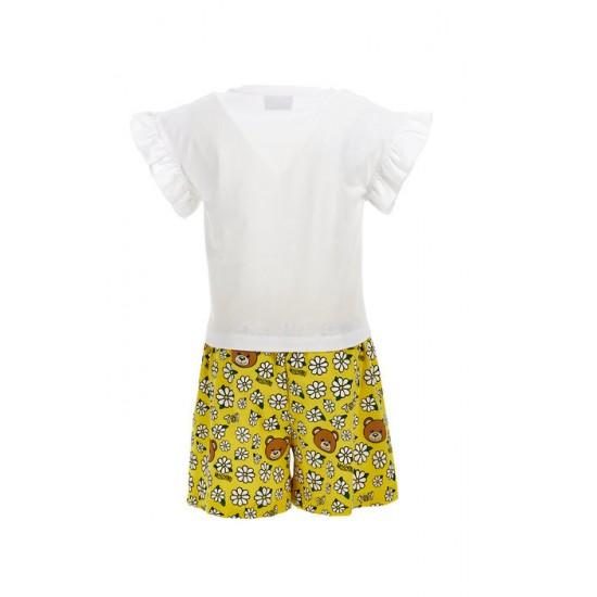 Moschino shorts and t-shirt set