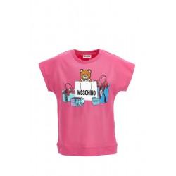 Moschino fuschia pink top
