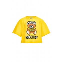 Moschino yellow t-shirt