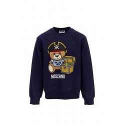 Moschino navy blue sweatshirt