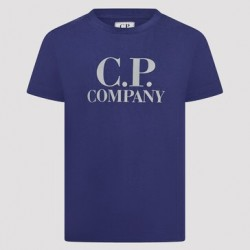 CP Company dark denim blue T-shirt