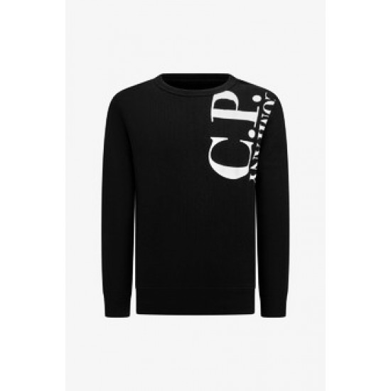 CP Company black long sleeved sweater