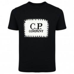 CP Company Black Sqaure logo T-shirt