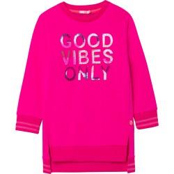 Billieblush fuschia pink good vibes only dress