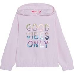 Billieblush Pale Pink good vibes only sweatshirt