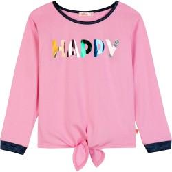Billieblush Pink Long Happy Sleeved T-Shirt
