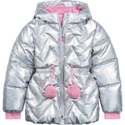 Billieblush Silver Puffer Jacket